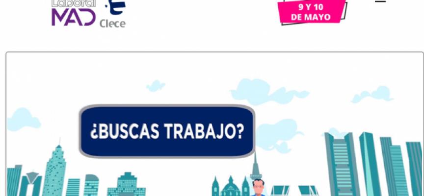 2.000 puestos de trabajo en Clece en #Madrid | 9 Y 10 de mayo de 2018