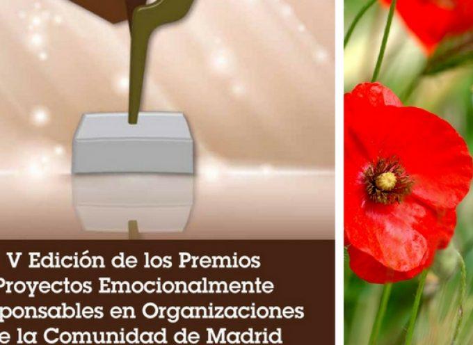 V Edición de los Premios Proyectos Emocionalmente Responsables en Organizaciones de la Comunidad de Madrid | Plazo 31/05/2018