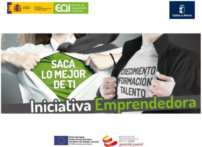 Programa INICIATIVA EMPRENDEDORA (CASTILLA-LA MANCHA) para jóvenes.