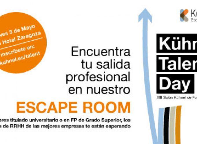 1200 Ofertas de trabajo y 275 Becas disponibles en Kühnel Talent day '18 | Zaragoza, jueves 3 de mayo