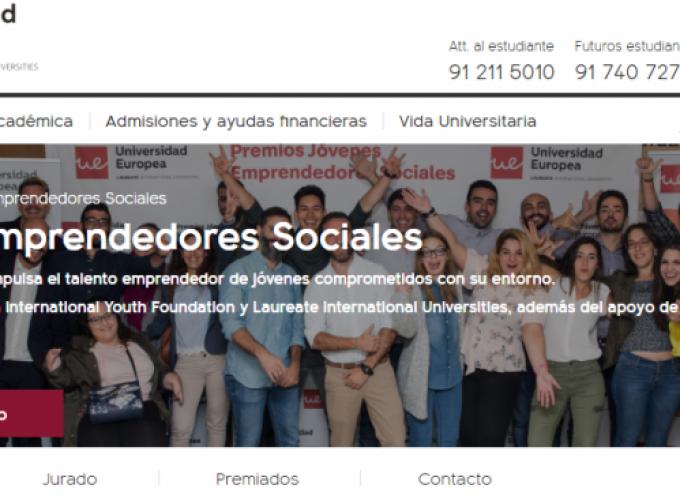 Convocados los X Premios Jóvenes Emprendedores Sociales. Plazo: 21/05/2018