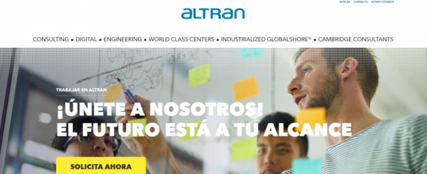 Altran contratará a más de 200 profesionales, para sus sedes de Sevilla y Cádiz