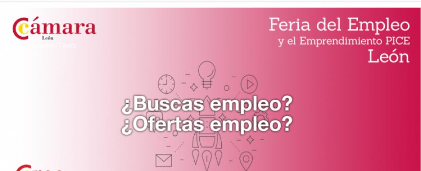 I Feria de empleo y emprendimiento-PICE en León 1 DE JUNIO DE 2018