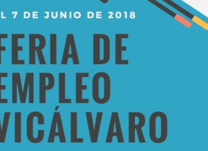 Se abre el plazo de inscripción para la I Feria de Empleo de Vicálvaro para personas desempleadas. 7 de junio de 2018