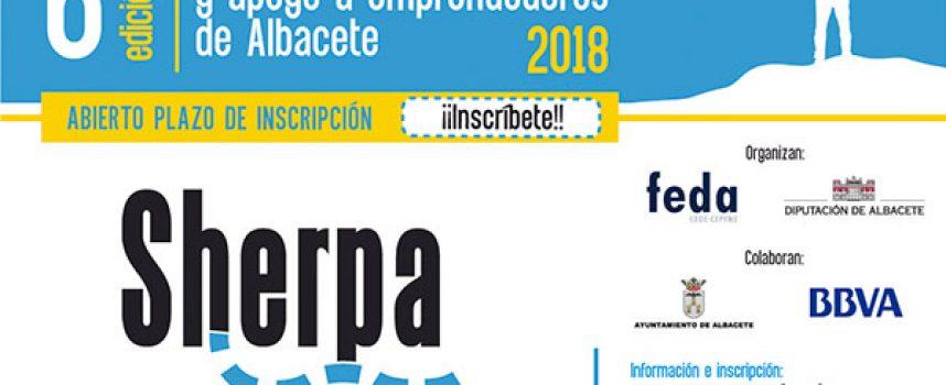 6ª Edición del Programa Sherpa 2018 de apoyo a emprendedores. Albacete. Plazo 23/07/2018