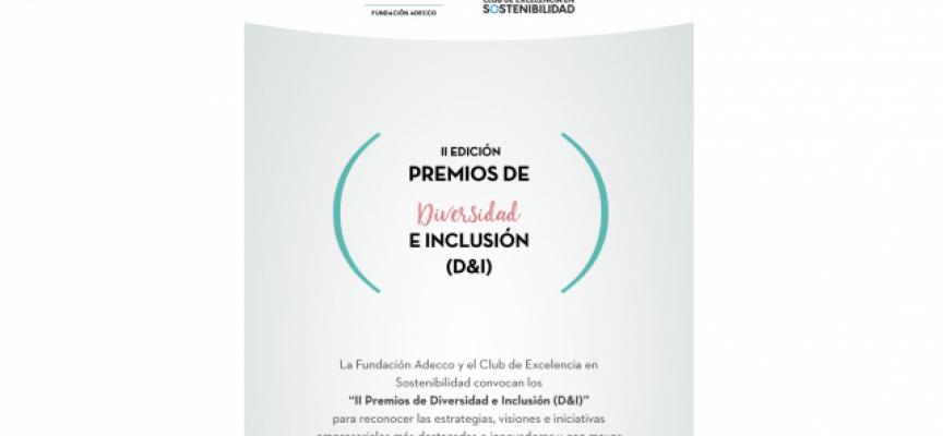 Se abre convocatoria de los II Premios de Diversidad e Inclusión (D&I) | Plazo 8 de julio 2018