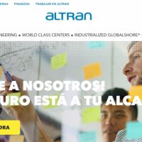 Altran dispone de más de 180 ofertas de trabajo y becas en España