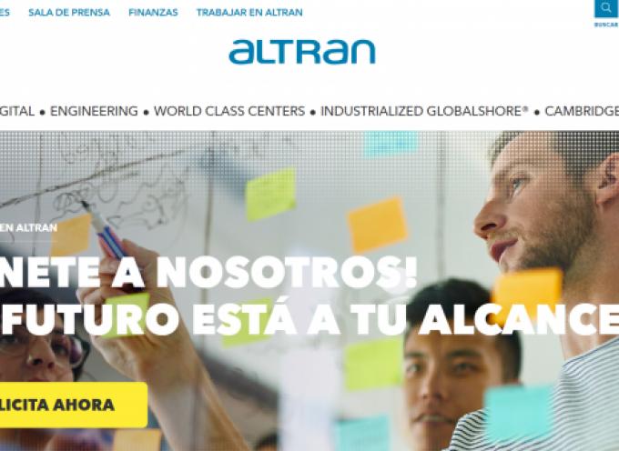 ALTRAN generará 98 empleos directos en un nuevo proyecto