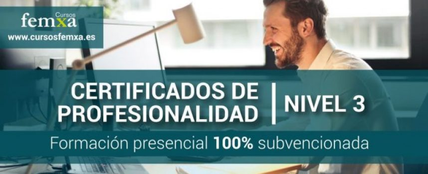 #Madrid   Cursos de Certificados de Profesionalidad Nivel 3 de Informática y Telecomunicaciones. Gratuitos para Desemplead@s