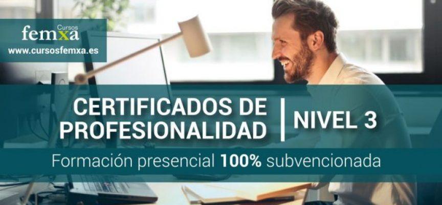 #Madrid | Cursos de Certificados de Profesionalidad Nivel 3 de Informática y Telecomunicaciones. Gratuitos para Desemplead@s