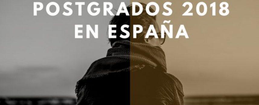 Guía de grados y postgrados 2018 en España