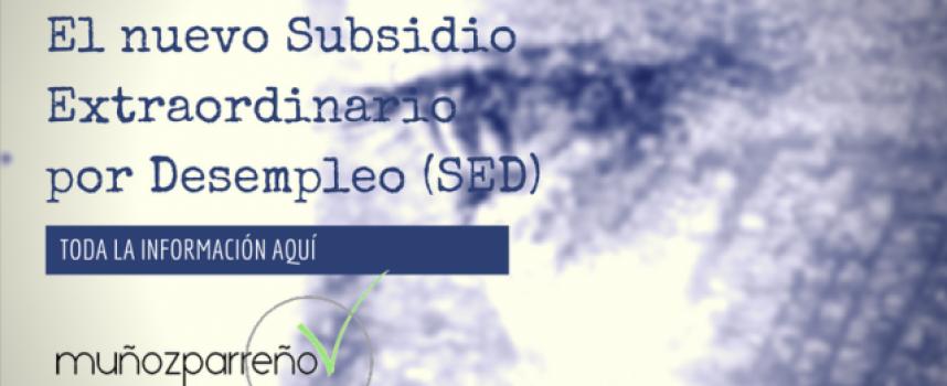 Te remitimos la información por el nuevo subsidio de desempleo (SED)