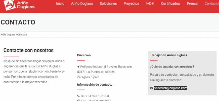 Ariño Duglass creará 50 nuevos puestos de trabajo en sus instalaciones