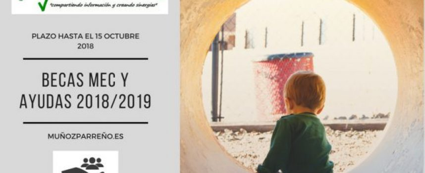 Infórmate sobre requisitos de Becas MEC y Ayudas 2018/2019 – Plazo hasta el 15 de octubre 2018
