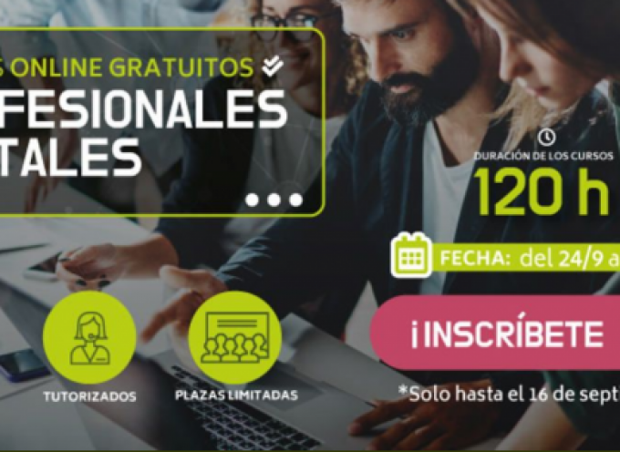 #CastillaLaMancha | Cursos Escuela Profesionales Digitales 2018 de BILIB