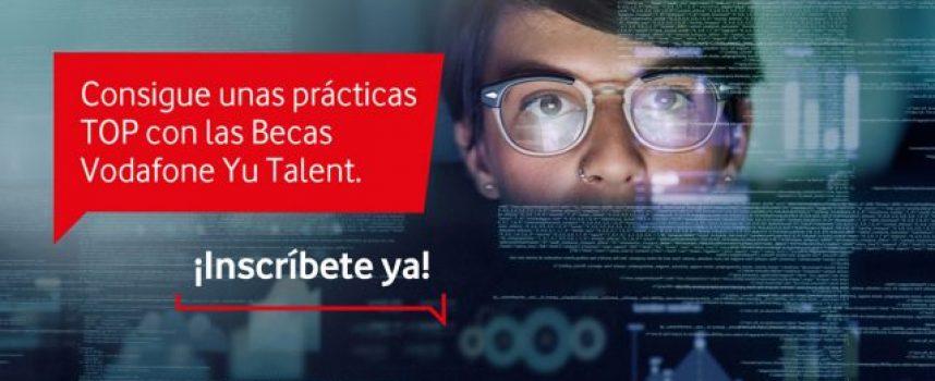 Vodafone convoca 60 becas para realizar prácticas en la compañía