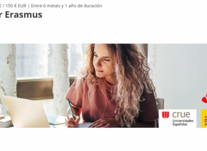 5.152 Becas Santander Erasmus para estudiantes de universidades españolas