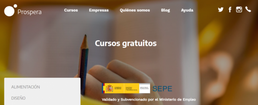 Nueva plataforma con amplia oferta de cursos online y gratuitos
