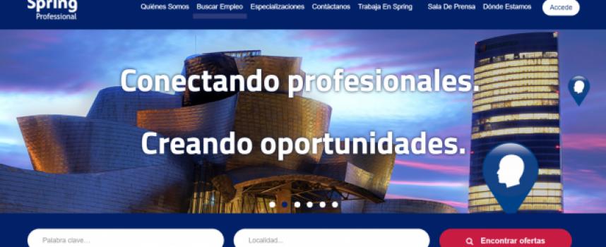 Spring Professional ofrece más de 100 puestos de trabajo