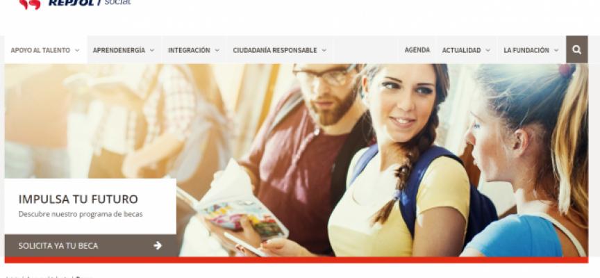 Repsol abre nueva convocatoria de becas para estudiantes con Discapacidad. Plazo 19/10/2018