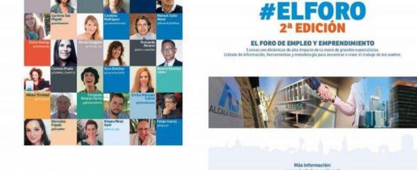 """Recuerda:  27/09/2018 la 2ª edición de """"El Foro de empleo y emprendimiento"""" en Alcalá de Henares. ¿Te lo vas a perder?"""