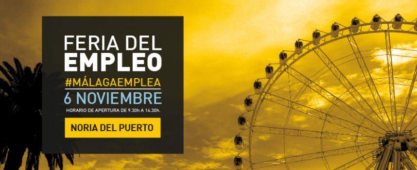 Ofertas de trabajo en la IV edición de laFeria del Empleo #MálagaEmplea 6/11/2018