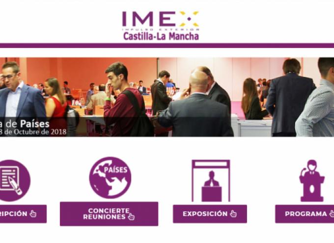3ª Edición de la Feria IMEX Castilla La Mancha de Negocio Internacional #Albacete 17 y 18 octubre