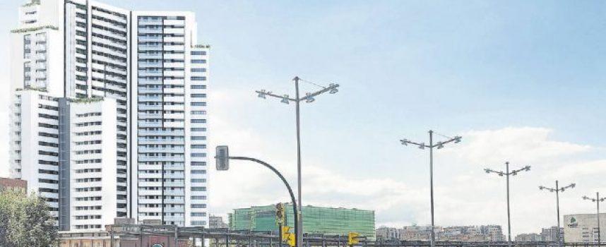La construcción del rascacielos Torre Zaragoza creará 300 empleos