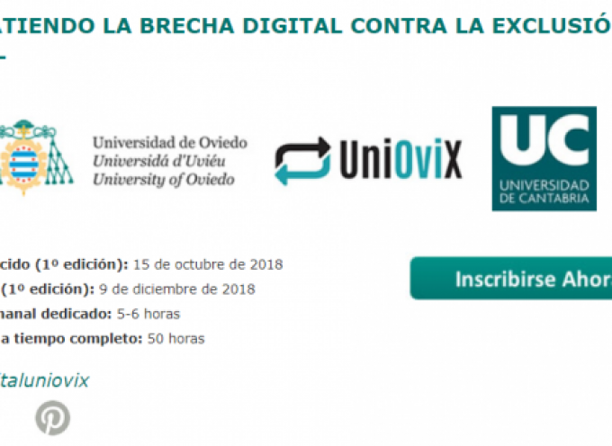 Formación para el desarrollo de las competencias digitales de personas en riesgo de exclusión social