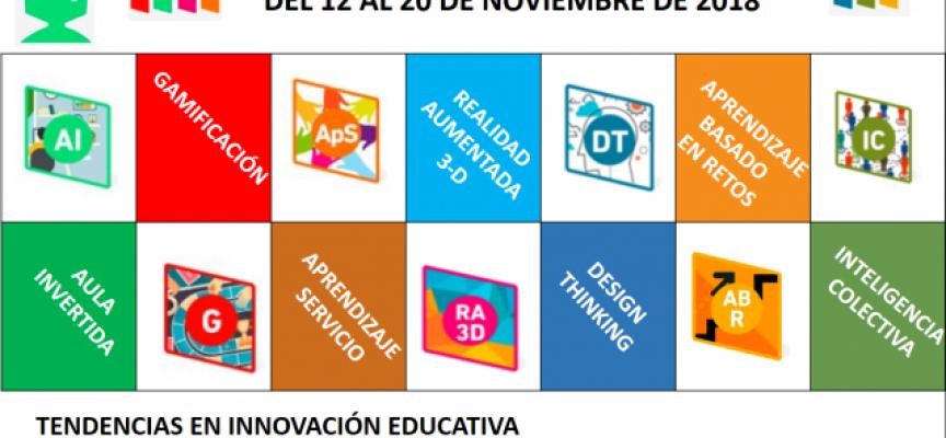 Jornadas: Tendencias en Innovación Educativa y su implantación en UPM #ie18UPM