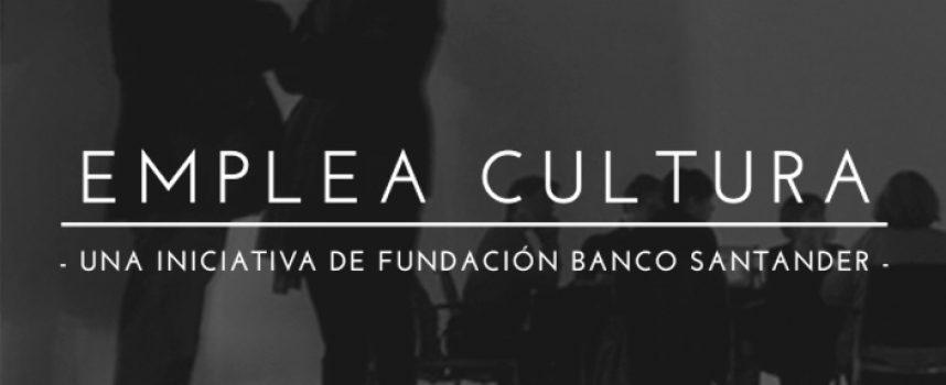 Programa para crear empleo entre los jóvenes especializados en el sector cultural