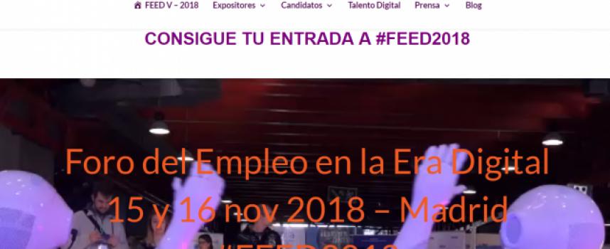 Más de 100 empresas que buscan candidatos en la Feria del Empleo Digital | Madrid 15/11/2018