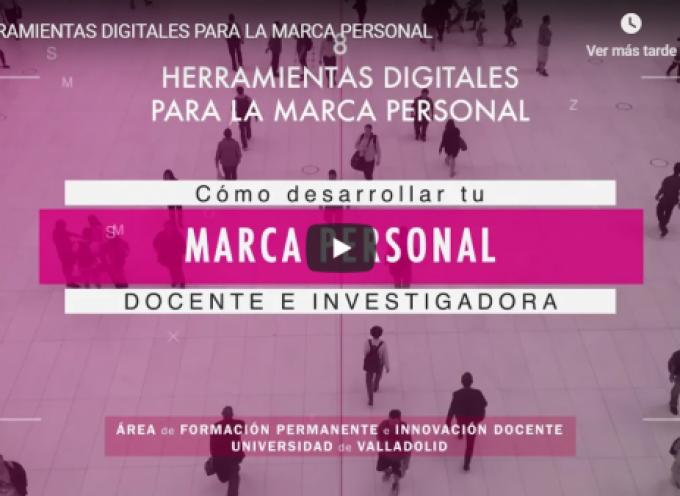 HERRAMIENTAS DIGITALES PARA LA MARCA PERSONAL (VÍDEO) #MARCAPERSONAL