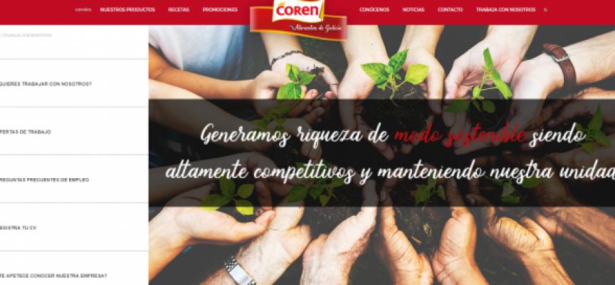 Coren necesitará 350 personas para sus nuevas plantas en Galicia