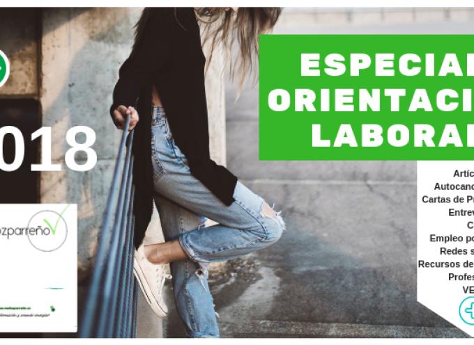 Especial Orientación Laboral y Profesional 2018 | (recursos de empleo, autocandidaturas, objetivos, #cv, cartas presentación, #empleorrss, etc)