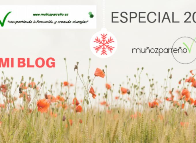 Especial Blog de www.muñozparreño.es 2018| Gracias por vuestras lecturas, por compartir y crear sinergias