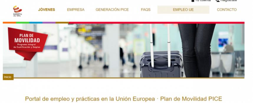 Empleo y Prácticas en el portal de ofertas de movilidad internacional