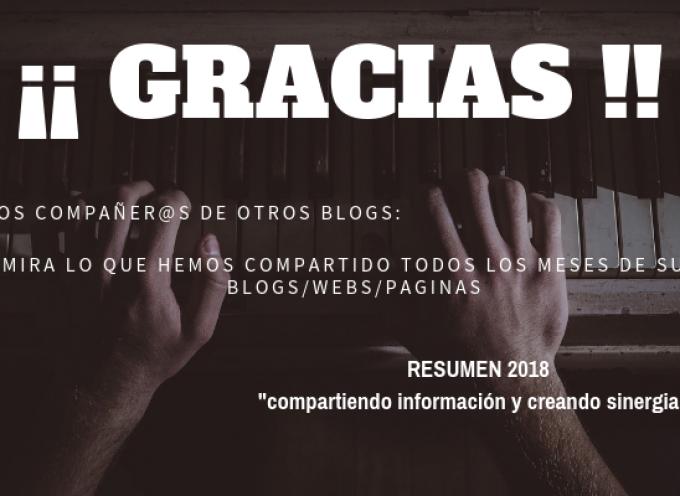 Lo que hemos compartido en el 2018 de otros bloggers y webs en las redes sociales || Un resumen para ti!!!! + de 2000 envios