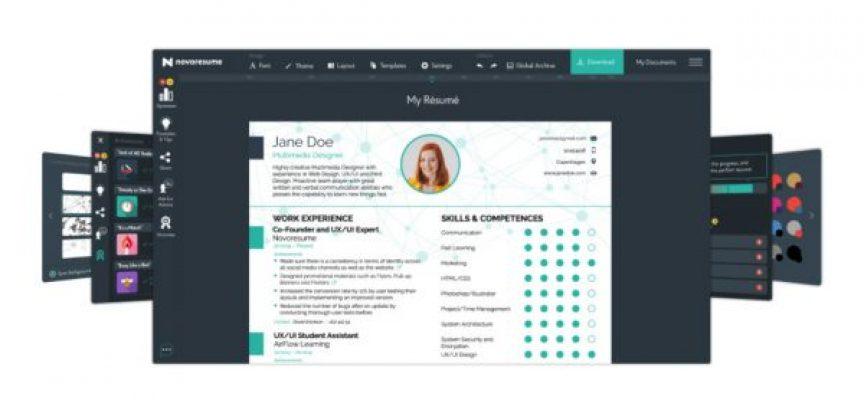 Novorésumé te ayuda a crear un currículum llamativo y moderno, y lo puedes usar gratis
