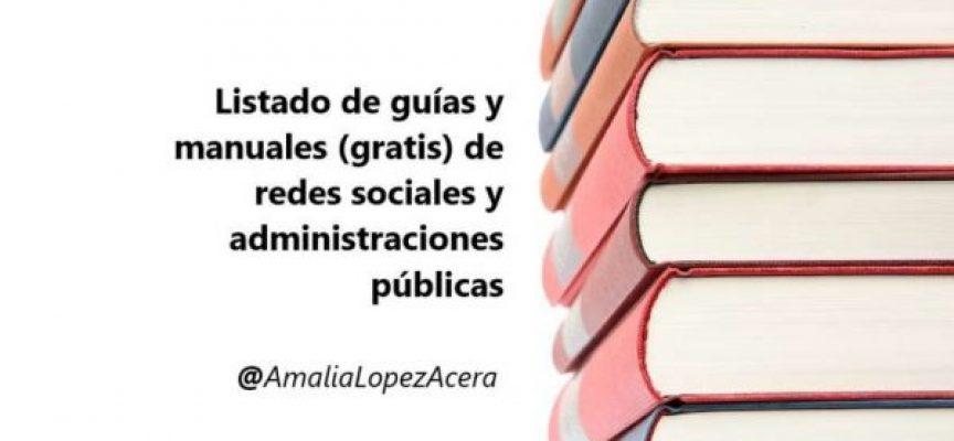 Guías y manuales (gratis) de redes sociales de las administraciones públicas
