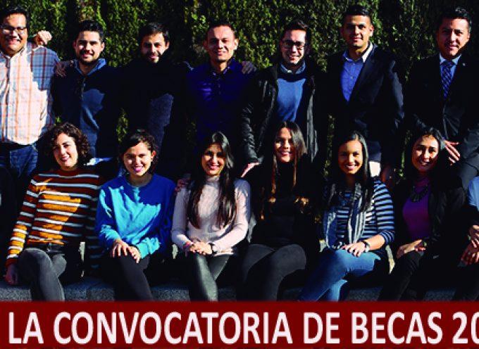 Abierta convocatoria de 723 becas de posgrado, doctorado… de la La Fundación Carolina