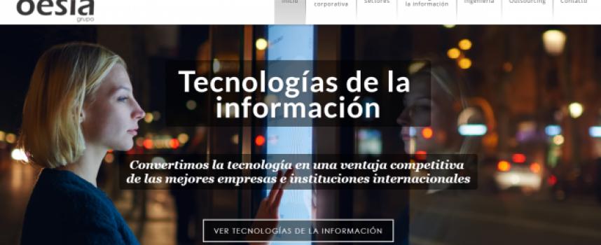 El Grupo Oesia creará 400 puestos de trabajo en España