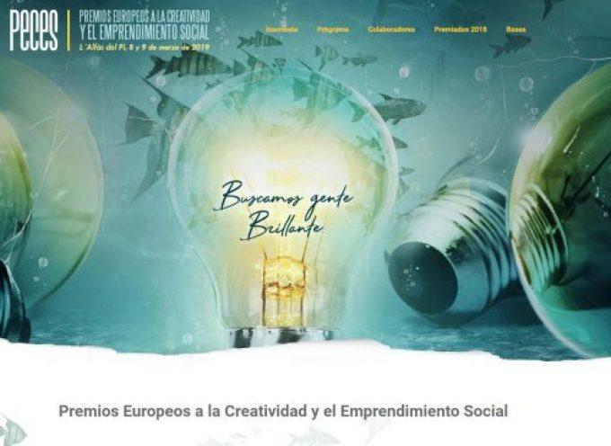 """Premios """"PECES"""" a la creatividad y emprendimiento social"""