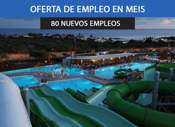 Aquapark necesita 80 trabajadores para Meis