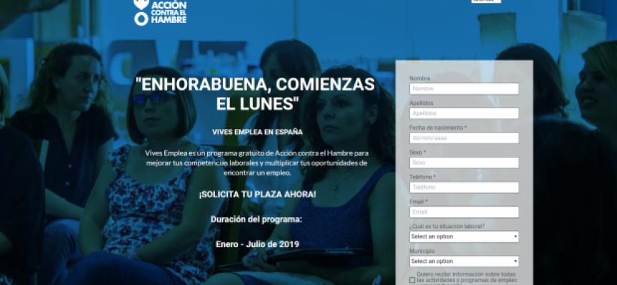 Nuevo programa gratuito de búsqueda de empleo VIVES EMPLEA