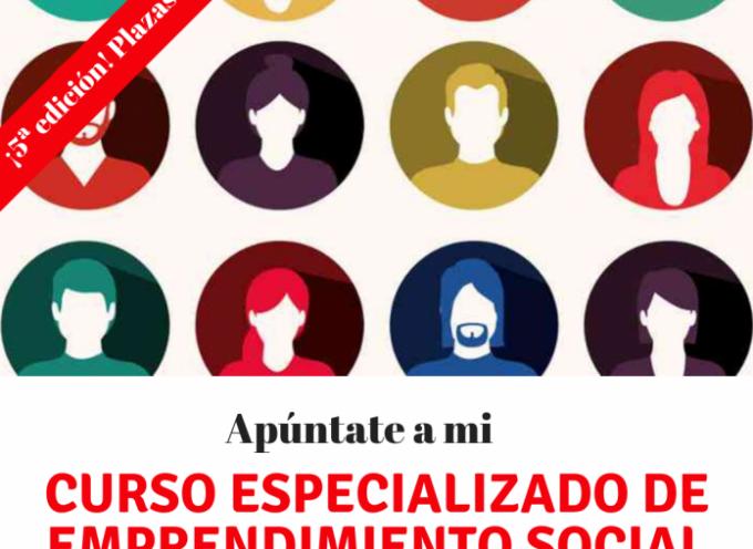 Curso Especializado Online de Emprendimiento Social ¡5ªedición!