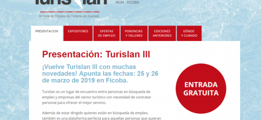 Nueva Feria de Empleo para buscar trabajo en el sector turístico