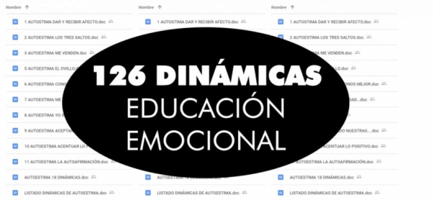 126 DINÁMICAS DE EDUCACIÓN EMOCIONAL