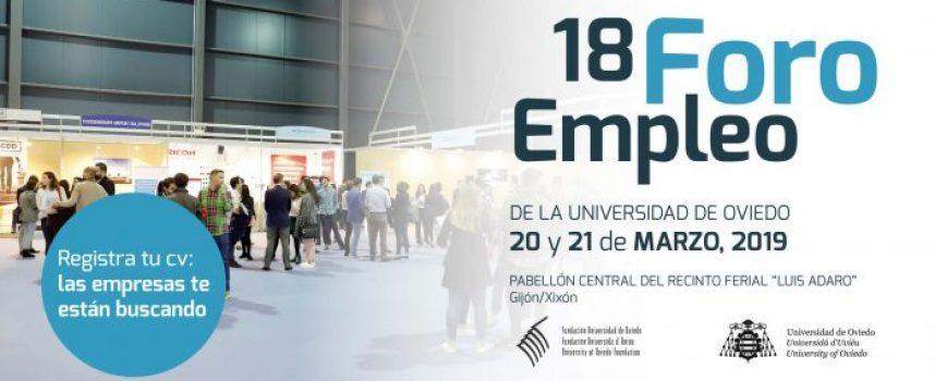18 Foro de Empleo Universidad de Oviedo (2019)
