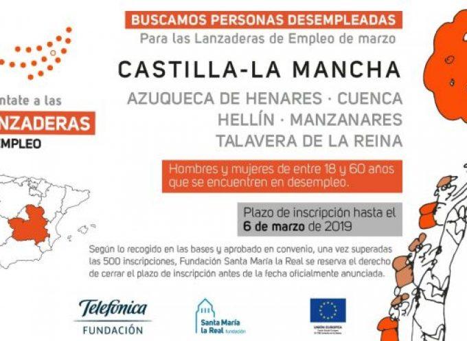 #CastillaLaMancha. Abierto plazo de Lanzaderas de Empleo en varias Localidades. No pierdas esta oportunidad!!!